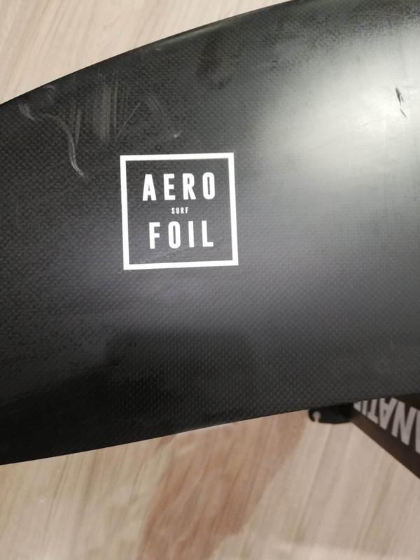 Fanatic - Hydrofoil Aero Surf Foil  Wing Set Completo Usato Ottime Condizioni