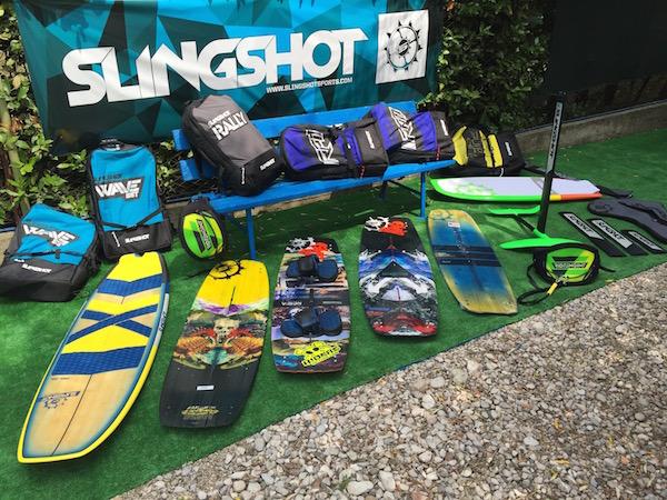Slingshot - Corsi Base, corsi partenze e navigazione, corsi Freestyle e Hydrofoil 2018