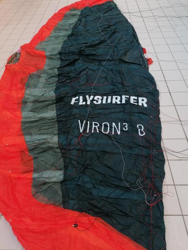 Flysurfer - Viron3+connect bar