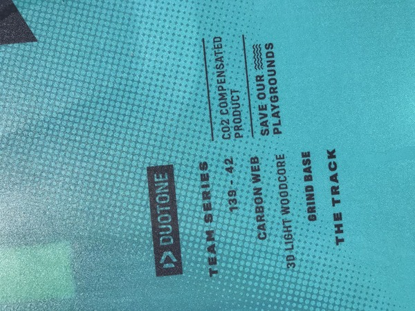 Duotone - Team series 2021 138x42