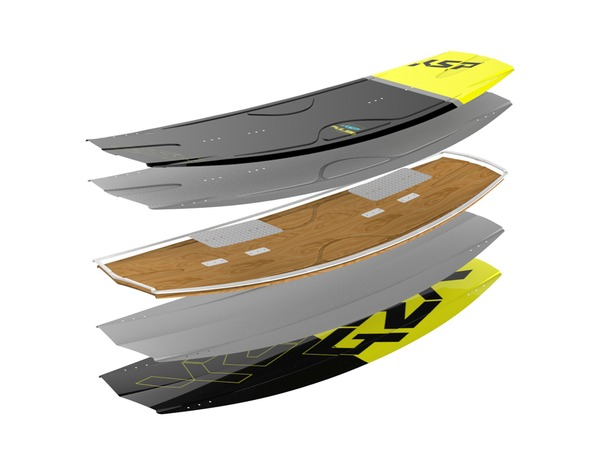 KSP - Tavola Wakeboard Pulse 142x44 promo