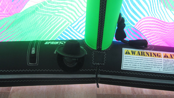 Cabrinha - Switchblade 9 mt 2014 Usato Ottime Condizioni