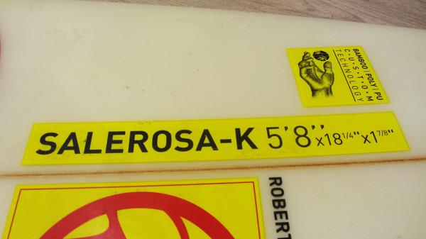 Rrd - Salerosa-K 5'8 Usata Ottime Condizioni *SPEDIZIONE GRATUITA IN ITALIA*
