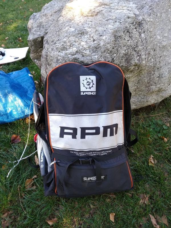 Slingshot - RPM + barra sentinel