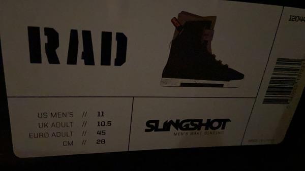 Slingshot - BOOTS RAD 2020