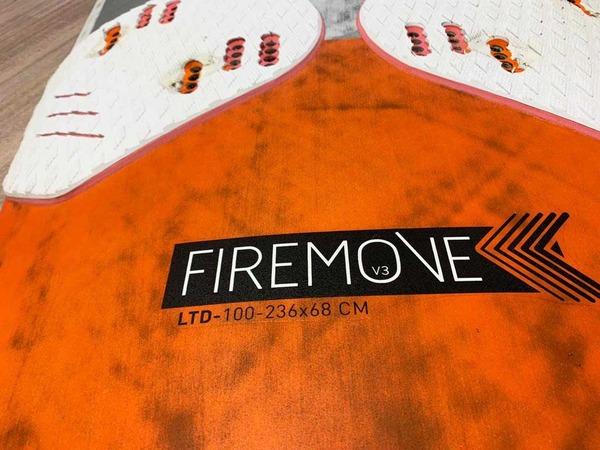 Rrd - FIREMOVE LTD V3 100 lt Usato Ottime Condizioni *SPEDIZIONE GRATUITA IN ITALIA*