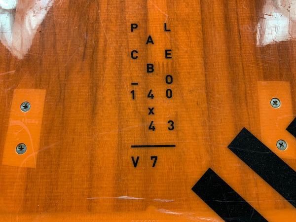 Rrd - Placebo V7 140 x 43 Con Pads Usata Ottime Condizioni *SPEDIZIONE GRATUITA IN ITALIA*