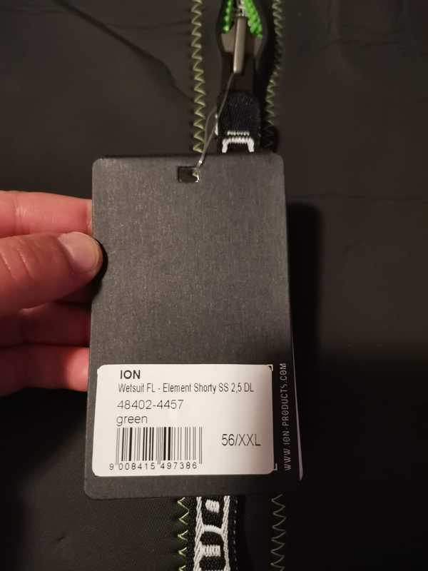 Ion - Element shorty 2.5mm XXL