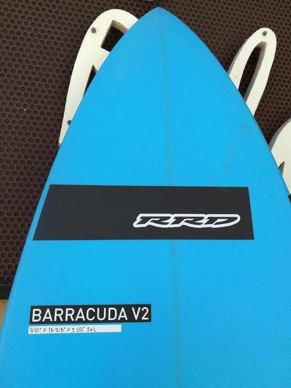 Rrd - Barracuda v2 5'10''