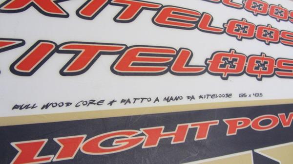 altra -  Kiteloose Lightpower 135 x 43,5 Usata Discrete Condizioni €100