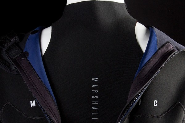 Mystic - Marshall longarm shortleg 43mm backzip navy lime