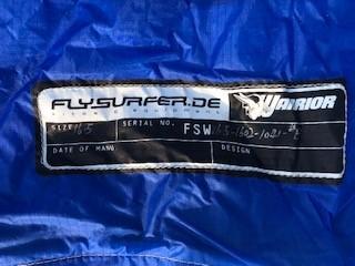 Flysurfer - WARRIOR 16,5