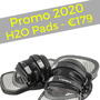 Cabrinha  H2O Pads - Promo 2020! *SPEDIZIONE GRATUITA IN ITALIA*