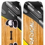Radical Kiteboards  Light-wind Board Carbon, 160x45 cm